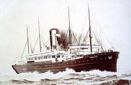 SS Pericles of the White Star Line