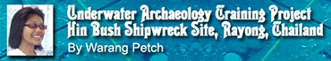 Underwater Archaeology in Thailand